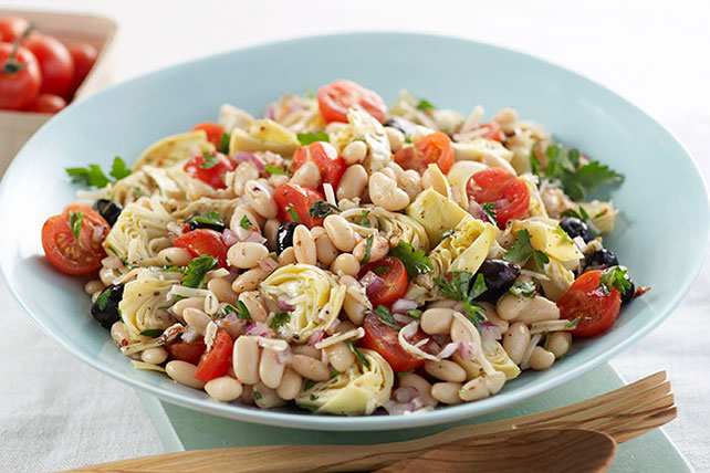 Mediterranean Bean Salad Recipe Image 1