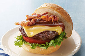 Ranch-Bacon Cheeseburgers