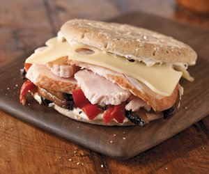 Garden-Lover's Turkey Sandwich