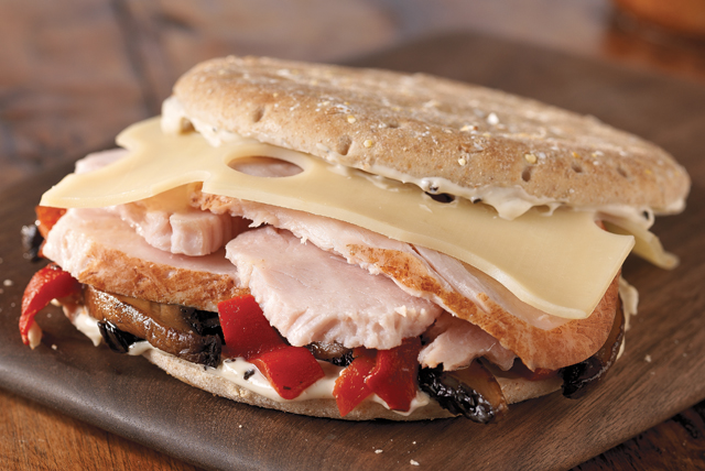 Garden-Lover's Turkey Sandwich Image 1