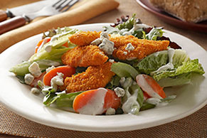 Buffalo Chicken Express Salad