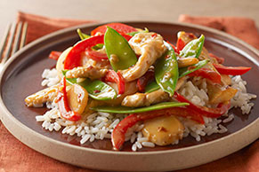 Savory Firecracker Chicken Stir-Fry Recipe