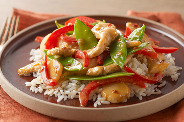 Savory Firecracker Chicken Stir-Fry Recipe Image 1