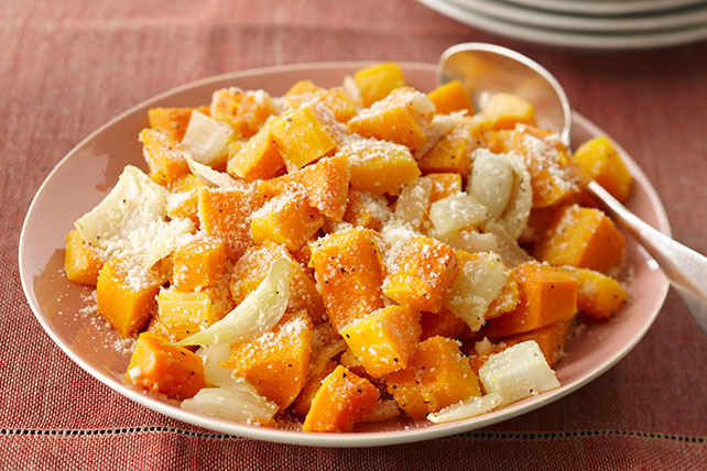 Baked Butternut Squash with Parmesan Cheese Image 1
