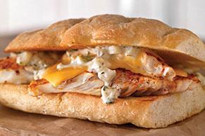 Smoked Tilapia Sandwich