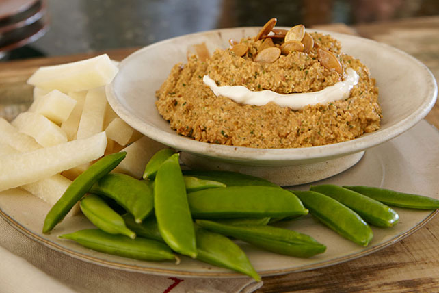 Spicy Toasted Pumpkin Seed Dip