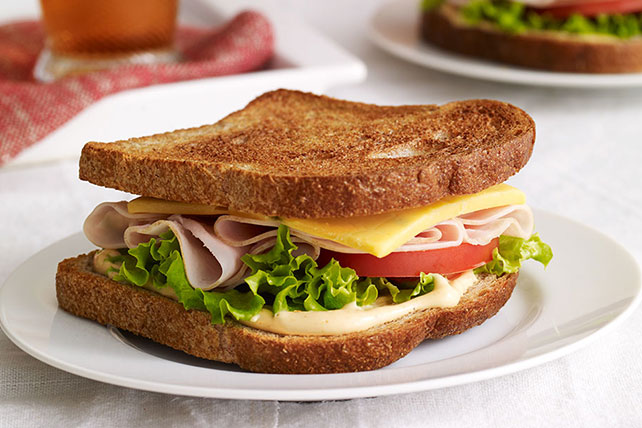 Kick'n Turkey Sandwich Image 1