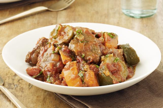 Ragoût de bœuf provençal à la mijoteuse Image 1