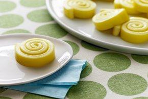 Remolinos de malvaviscos al limón