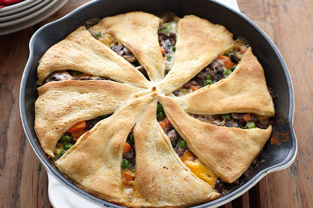 Beef and Vegetable Skillet Bake