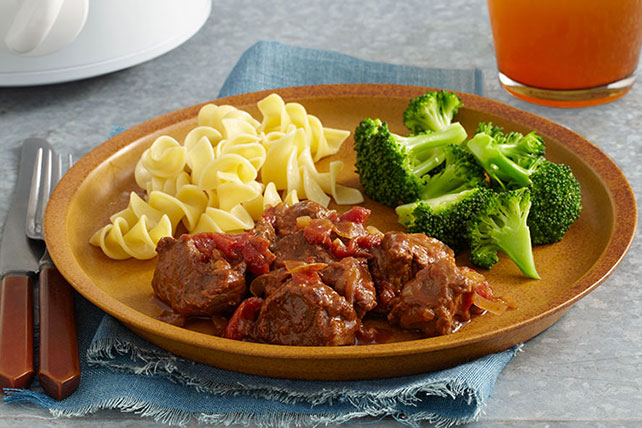 Easy Slow-Cooker A.1. Swiss Steak Image 1