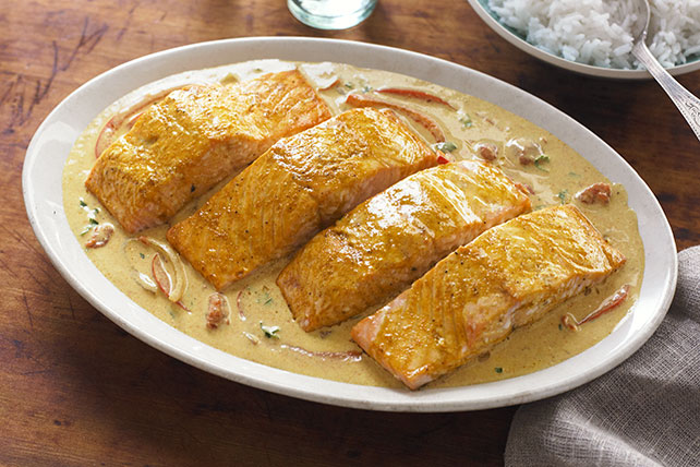 Coconut-Curry Salmon Image 1