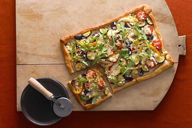 Rustic Veggie Pizza Image 1