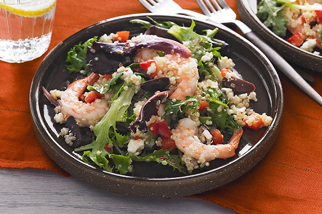 Quinoa &  Shrimp Salad Image 1