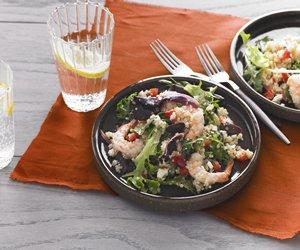 Quinoa &  Shrimp Salad