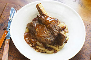 Cranberry-Glazed Braised Short Ribs
