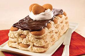 """Eggnog"" Eclair Dessert"