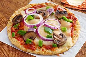 Pizzas rápidas en pan pita