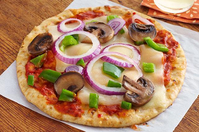 Pizzas rápidas en pan pita Image 1