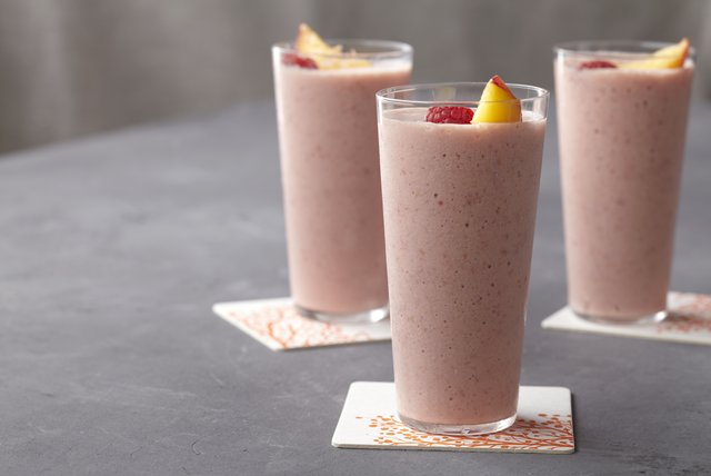 Peach Melba Smoothie Image 1