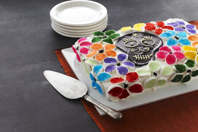 flowery-cake-of-the-dead-120010 Image 1