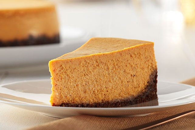 Cheesecake de calabaza y nueces