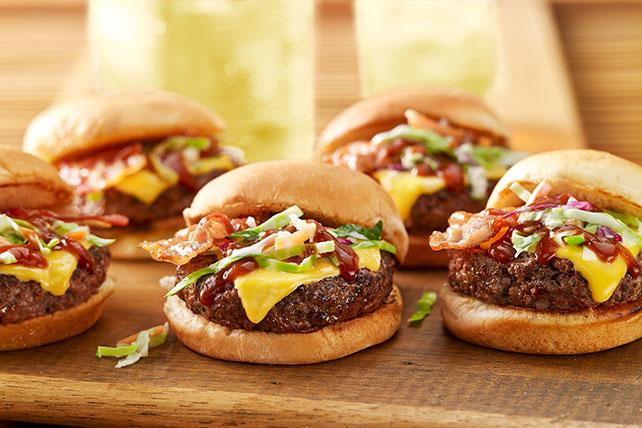Mini Memphis-Style BBQ Burgers Image 1