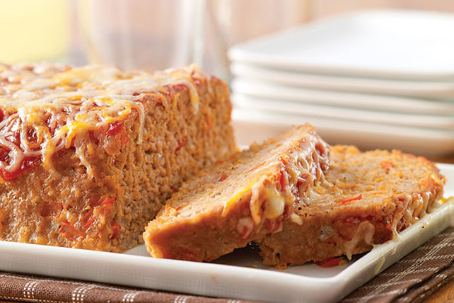 Cheesy Turkey Meatloaf Image 1