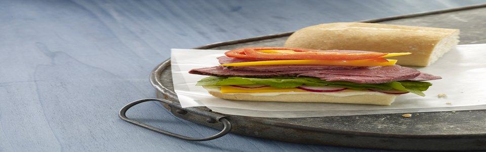 Amy's Roast Beef Sub Sandwich  Image 1