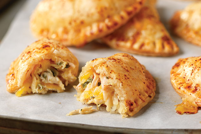 Shredded Chicken Empanadas with Cheese