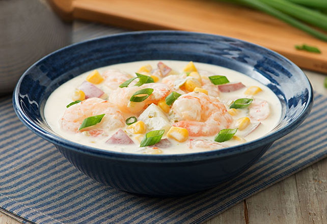 Shrimp Corn Chowder Image 1