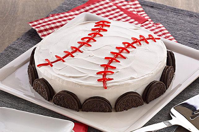 Baseball Dessert Image 1