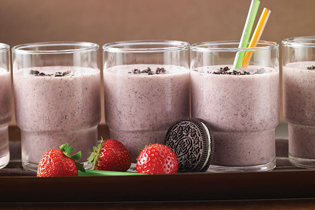 OREO-Strawberry Cheesecake Milkshake Image 1