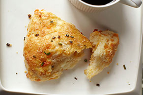 Cheddar & Sour Cream Scones