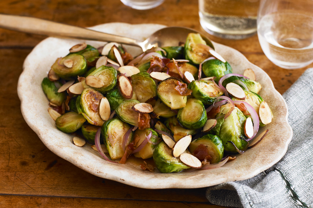 Cider-Glazed Brussels Sprouts Image 1