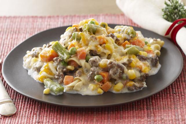 Creamy Beef & Noodle Bake Image 1