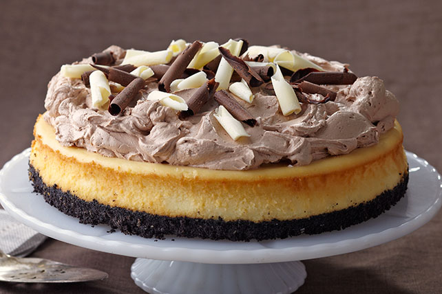 PHILADELPHIA Triple-Chocolate Cheesecake