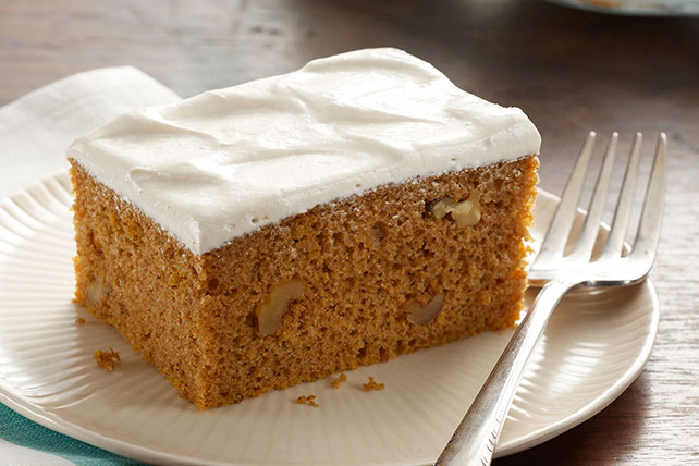 Pumpkin Spice Cake with Brown Sugar Frosting Image 1