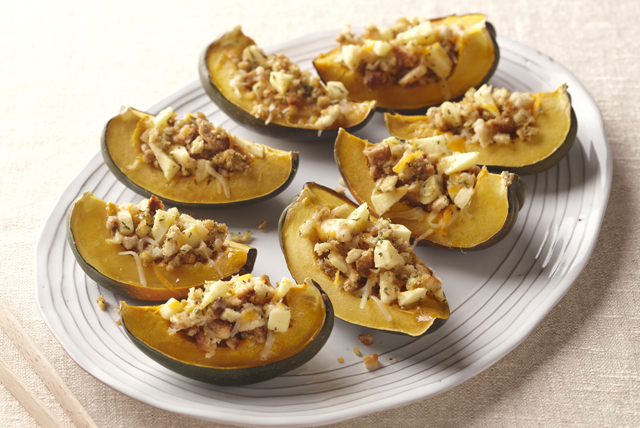 Acorn Squash with Apple Stuffing Image 1