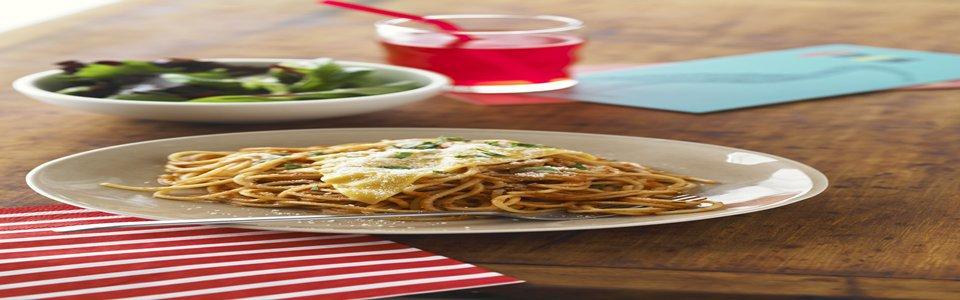 Espagueti sencillo con queso Image 1