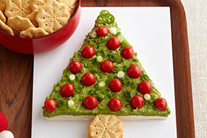 Guacamole Holiday Tree
