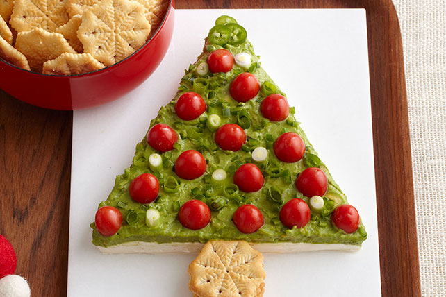 Árbol festivo de guacamole Image 1