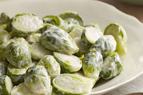 Lemon-Glazed Brussels Sprouts
