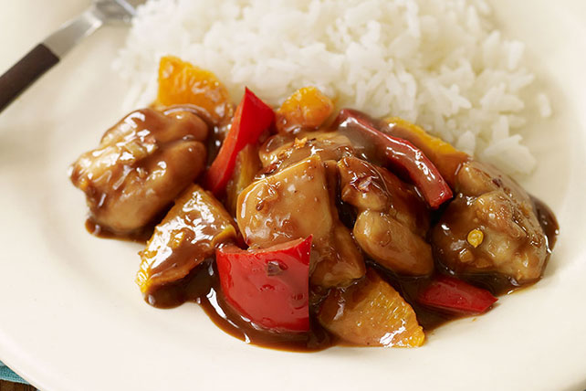 Sweet & Sticky Orange Chicken Image 1