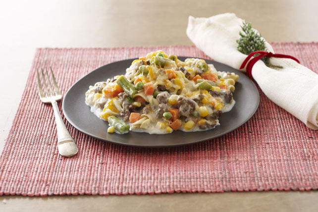 Smart-Choice Creamy Beef & Noodle Casserole Image 1