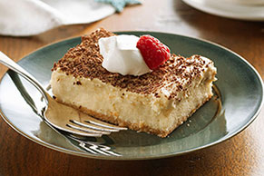 Tiramisu Mousse Cheesecake