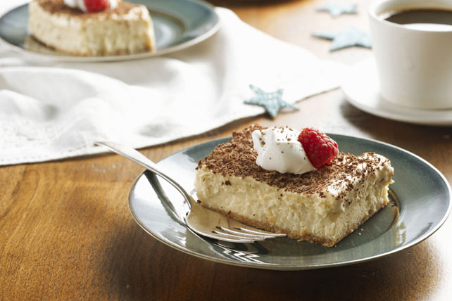 Smart-Choice Tiramisu Mousse Cheesecake
