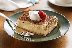 Cheesecake de tiramisú