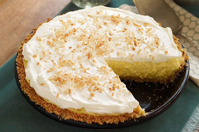 Coconut-Cream Cheese Pie Image 1