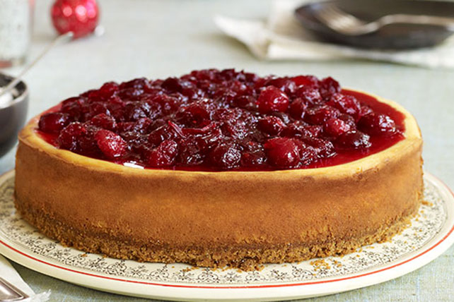 Cinnamon & Cranberry Cheesecake Image 1